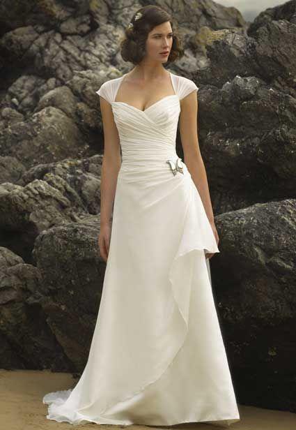 second wedding dresses for older brides photo - 1