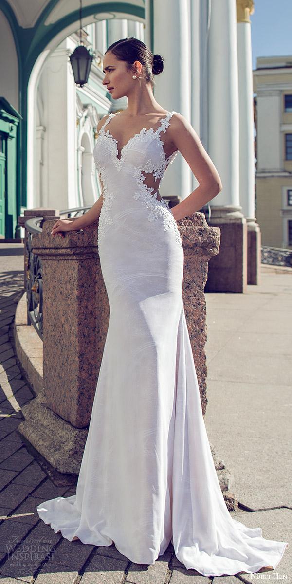 see thru wedding dresses photo - 1