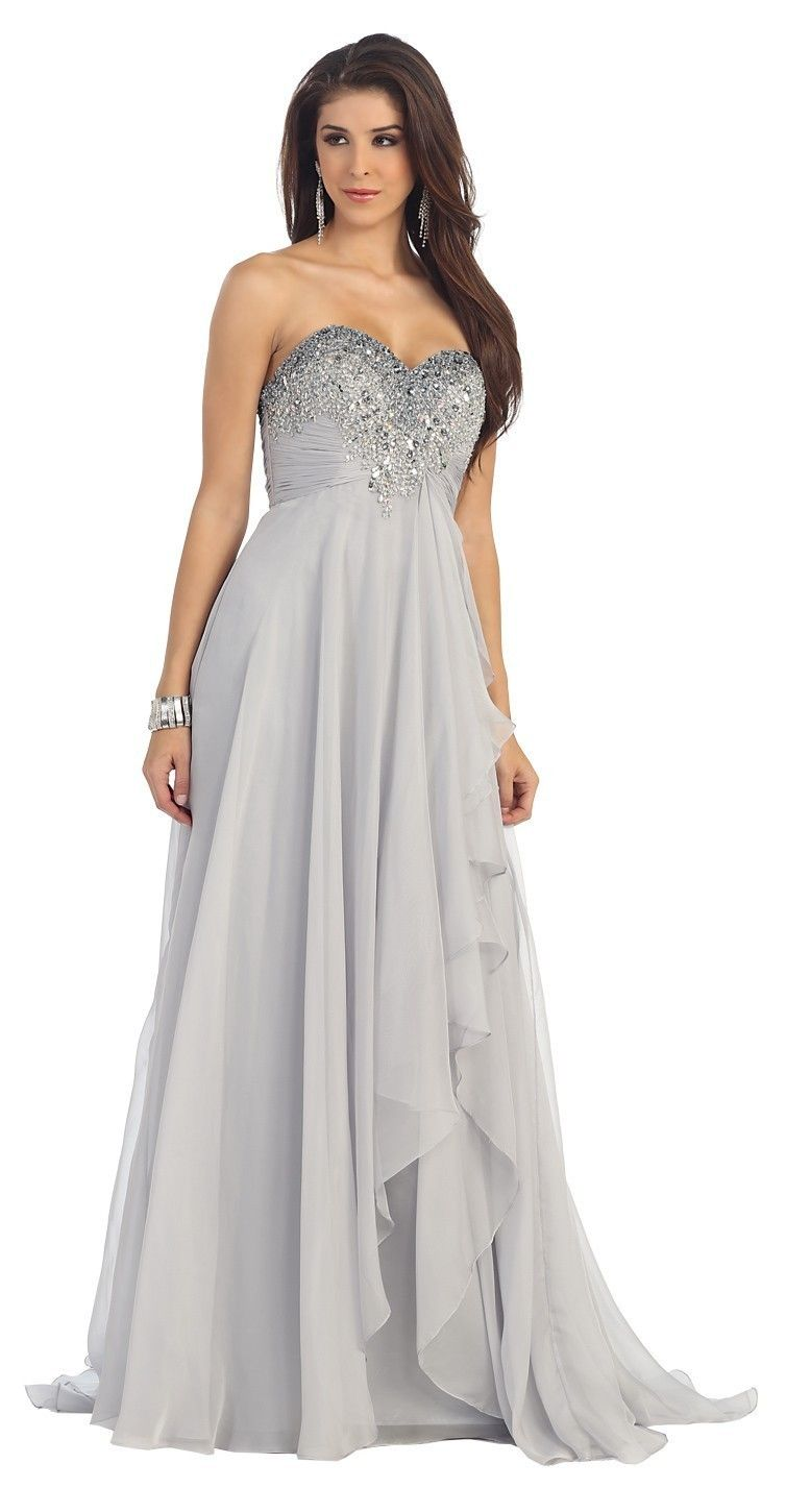 semi formal wedding dresses plus size photo - 1