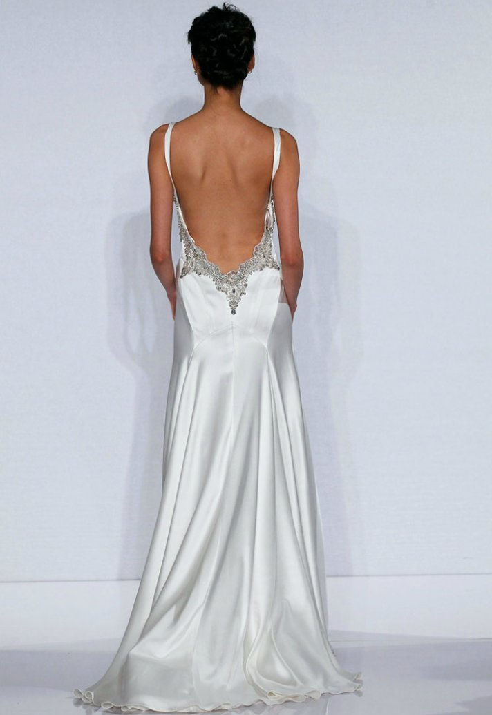 sexy backless wedding dresses photo - 1