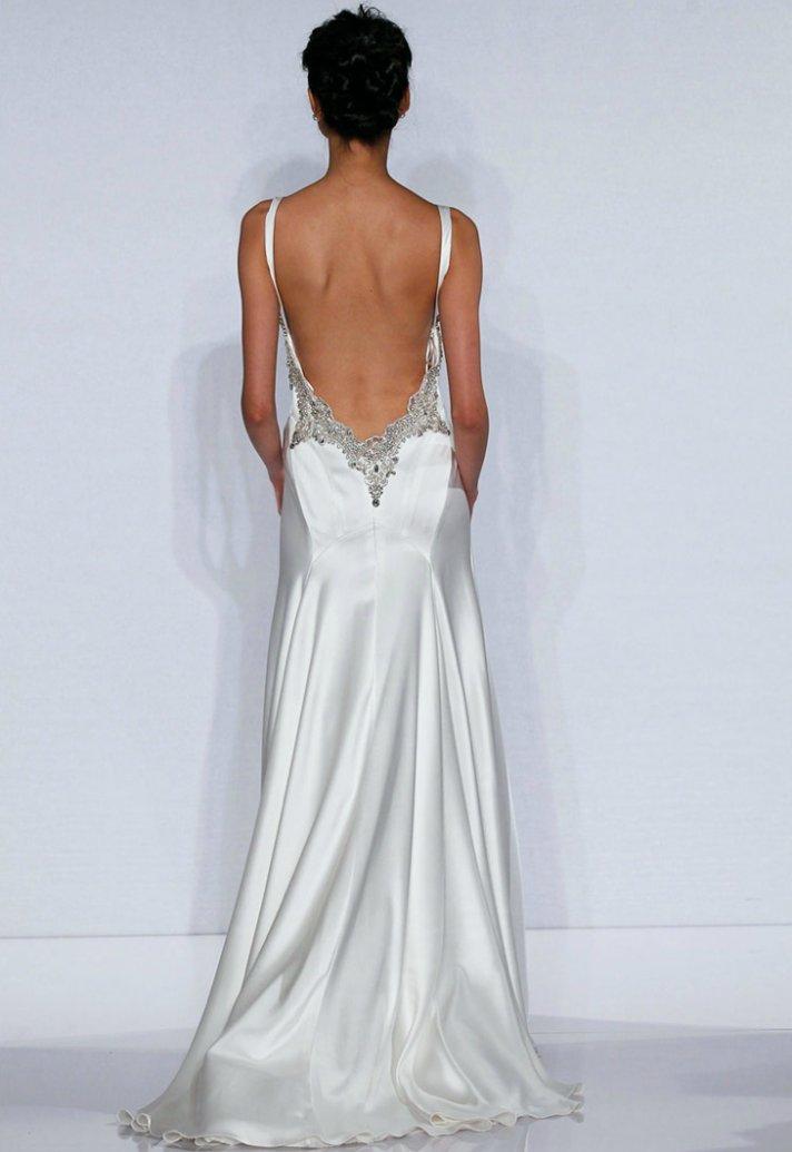 sexy backless wedding dresses photo - 1