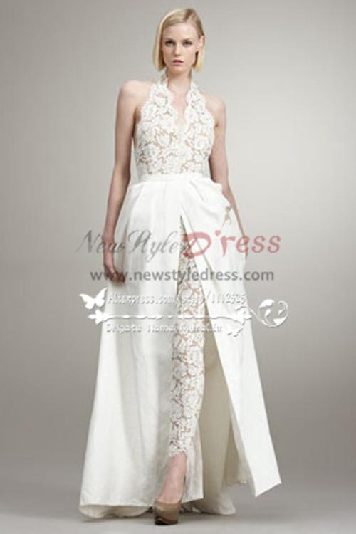 sexy lace wedding dresses photo - 1