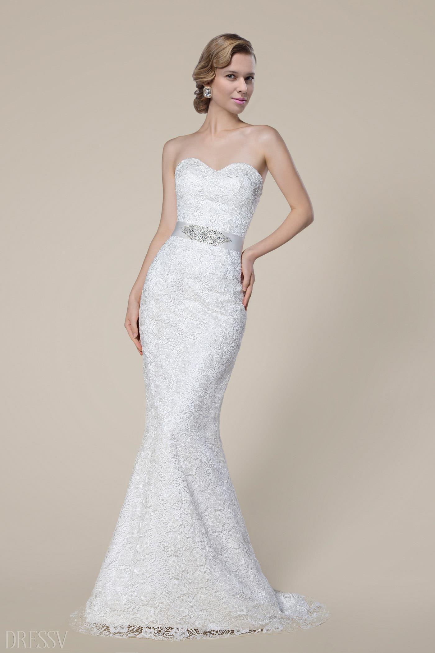 sexy mermaid wedding dresses photo - 1
