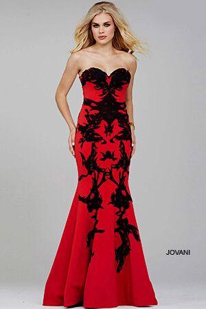 sexy red wedding dresses photo - 1