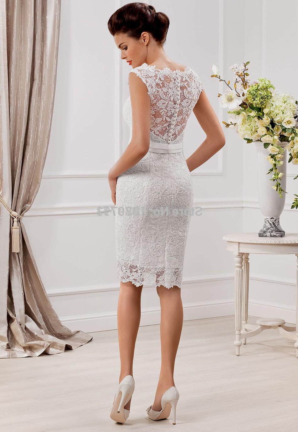 sexy short wedding dresses photo - 1