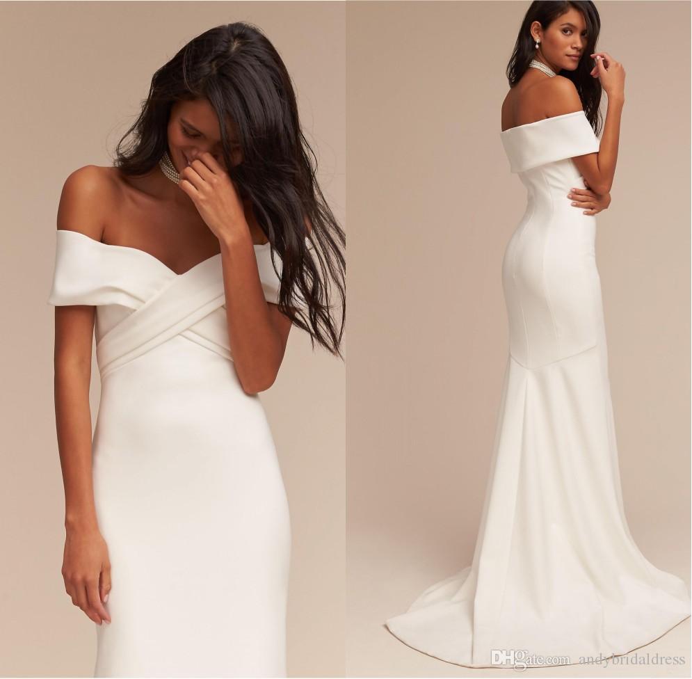 sexy white wedding dresses photo - 1