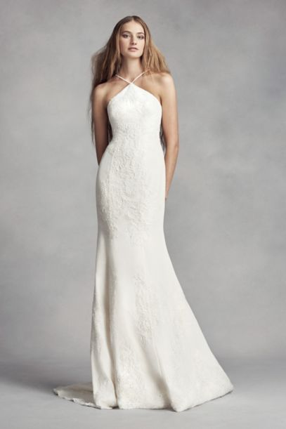 sheath wedding dresses vera wang photo - 1