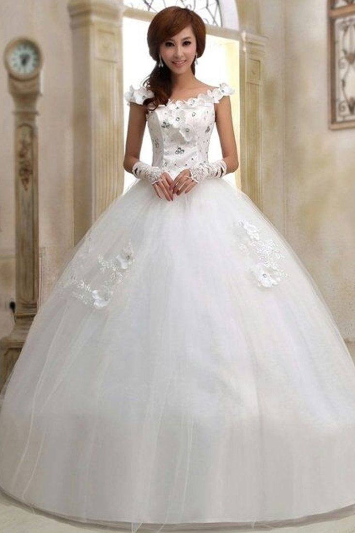 shop wedding dresses online photo - 1