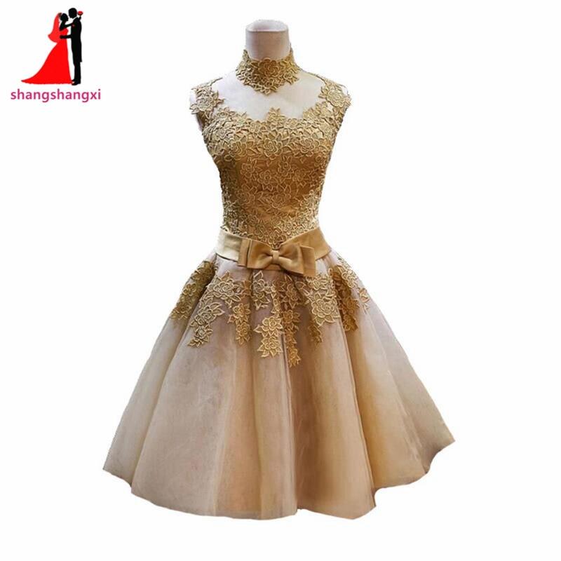 short beige wedding dresses photo - 1