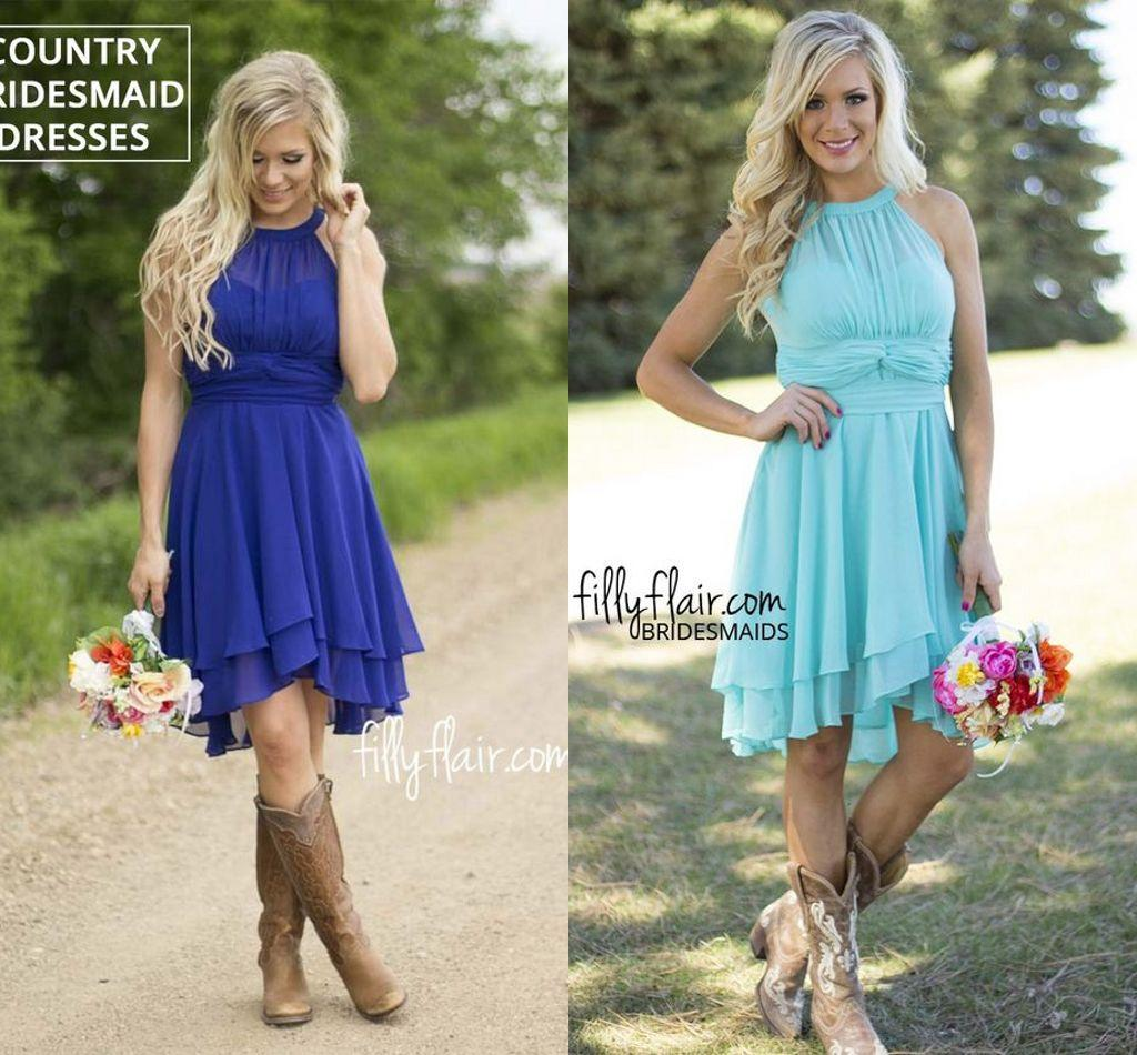 short country wedding dresses photo - 1