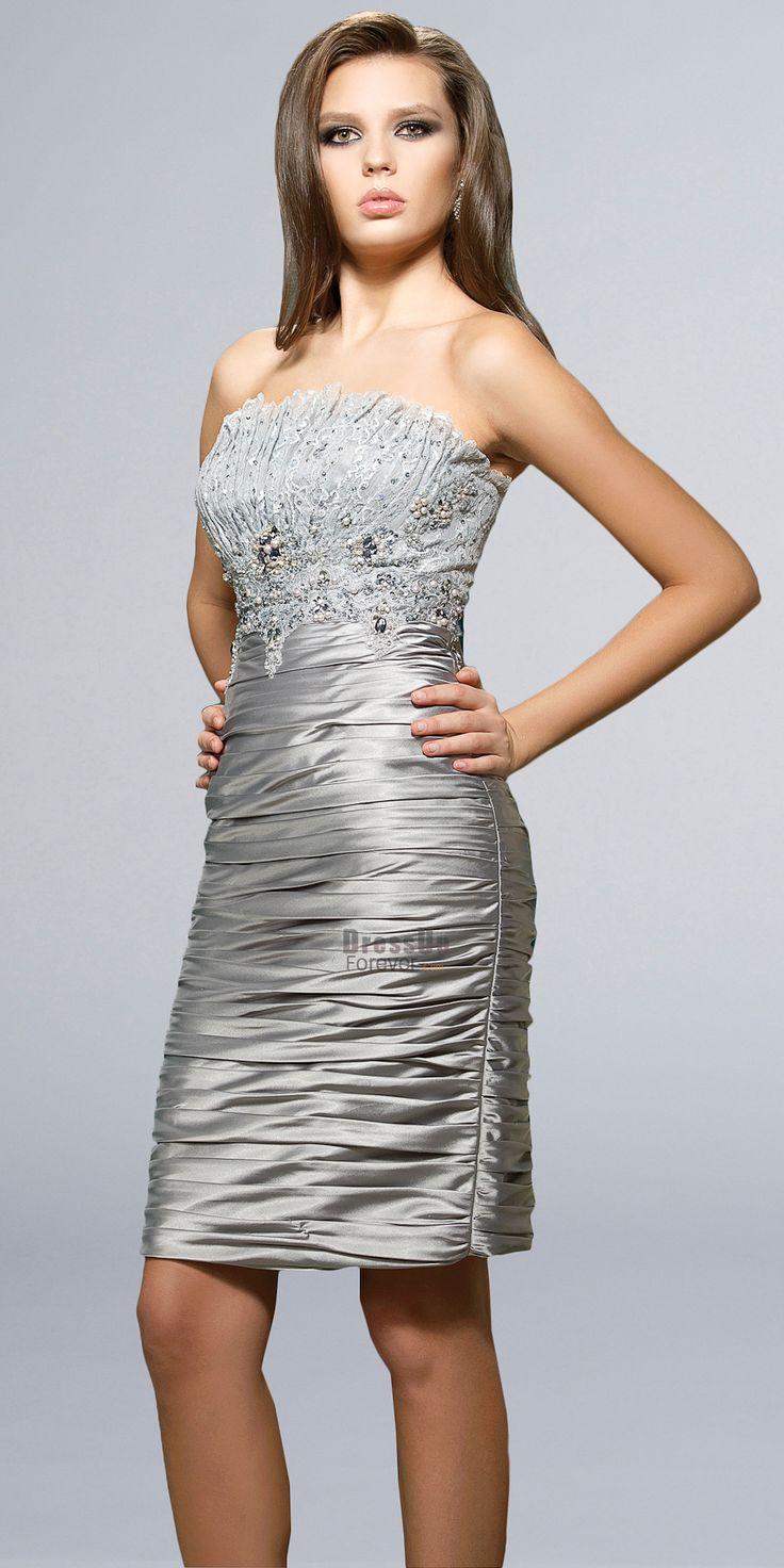 short dresses for wedding photo - 1