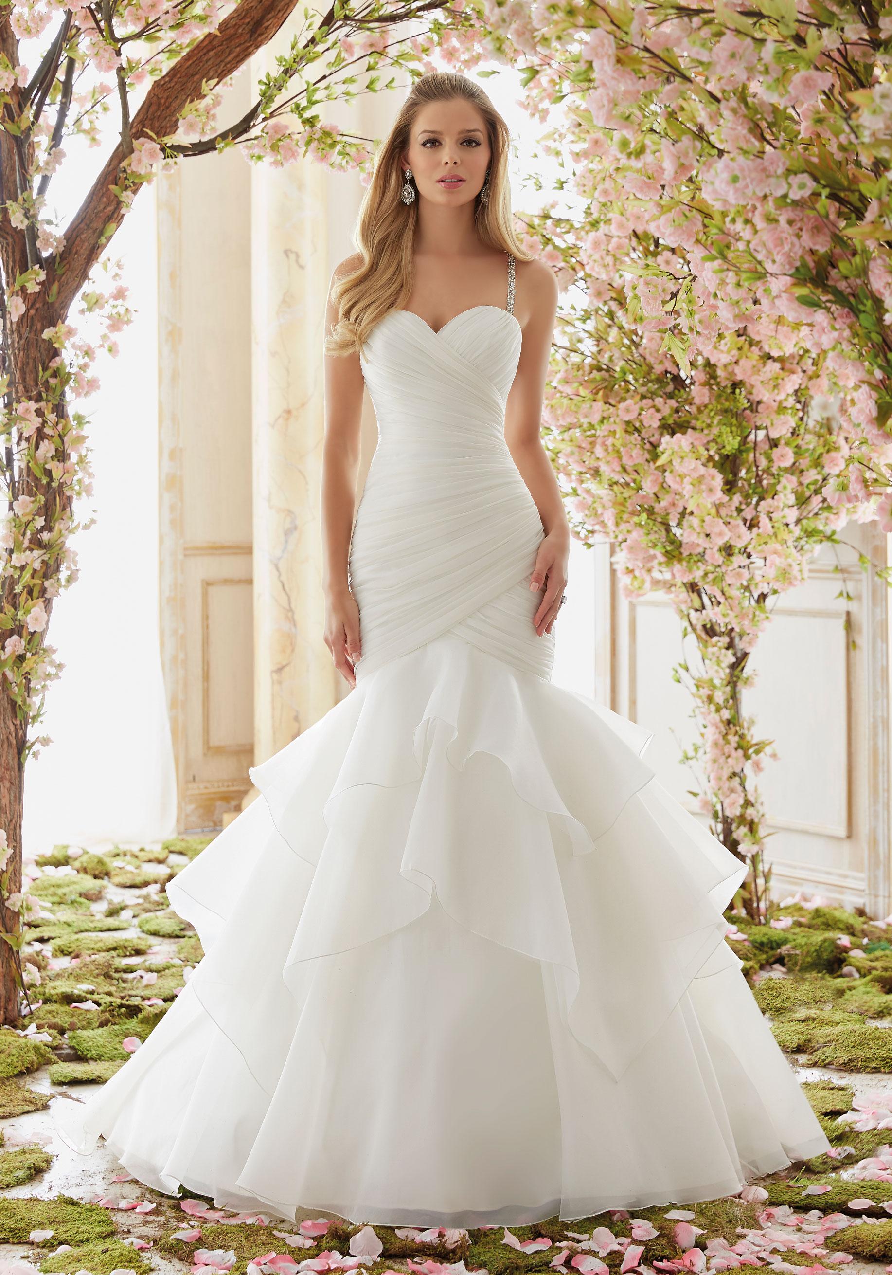 short ivory wedding dresses photo - 1