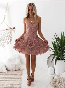 short lace wedding dresses photo - 1