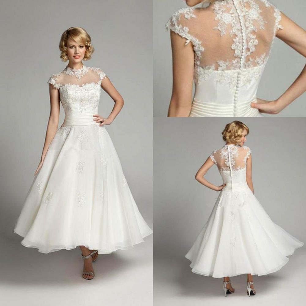 short length wedding dresses photo - 1