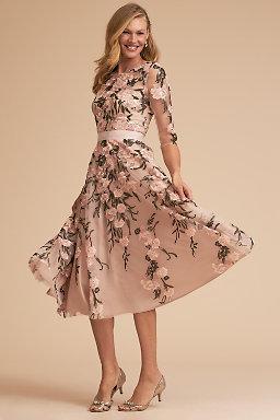 short pink wedding dresses photo - 1