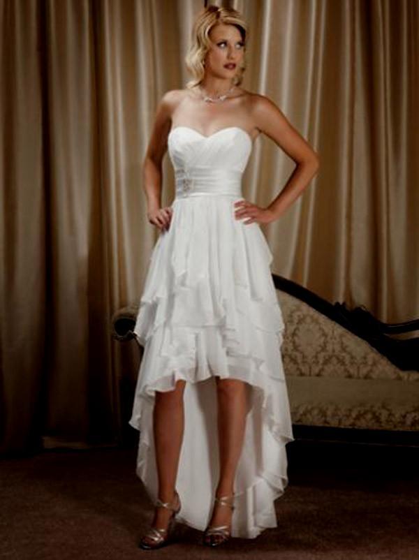 short poofy wedding dresses photo - 1