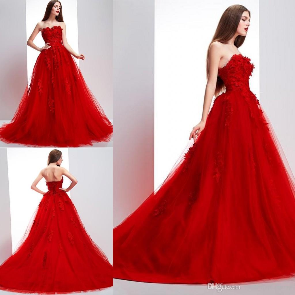 short red dresses for wedding photo - 1
