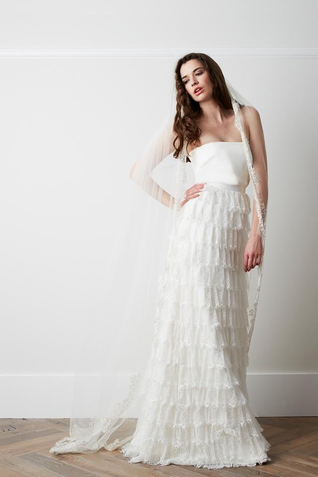 short skirt wedding dresses photo - 1