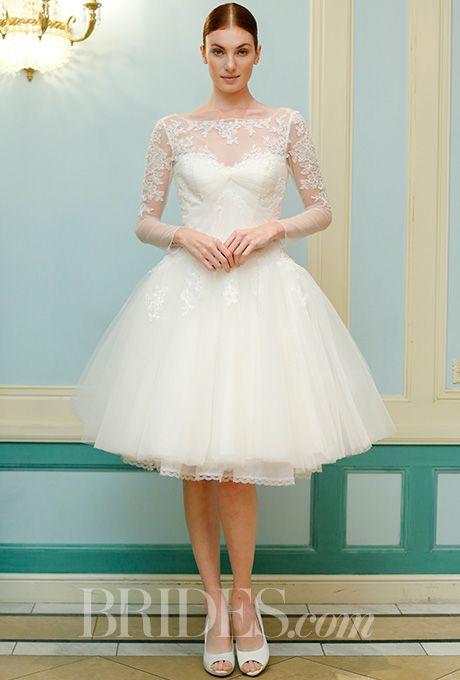 short wedding dresses photo - 1