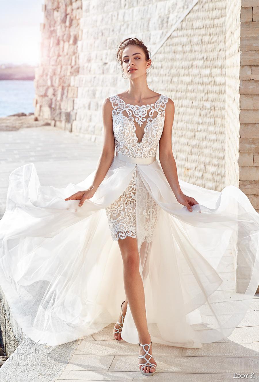 short wedding dresses 2018 photo - 1