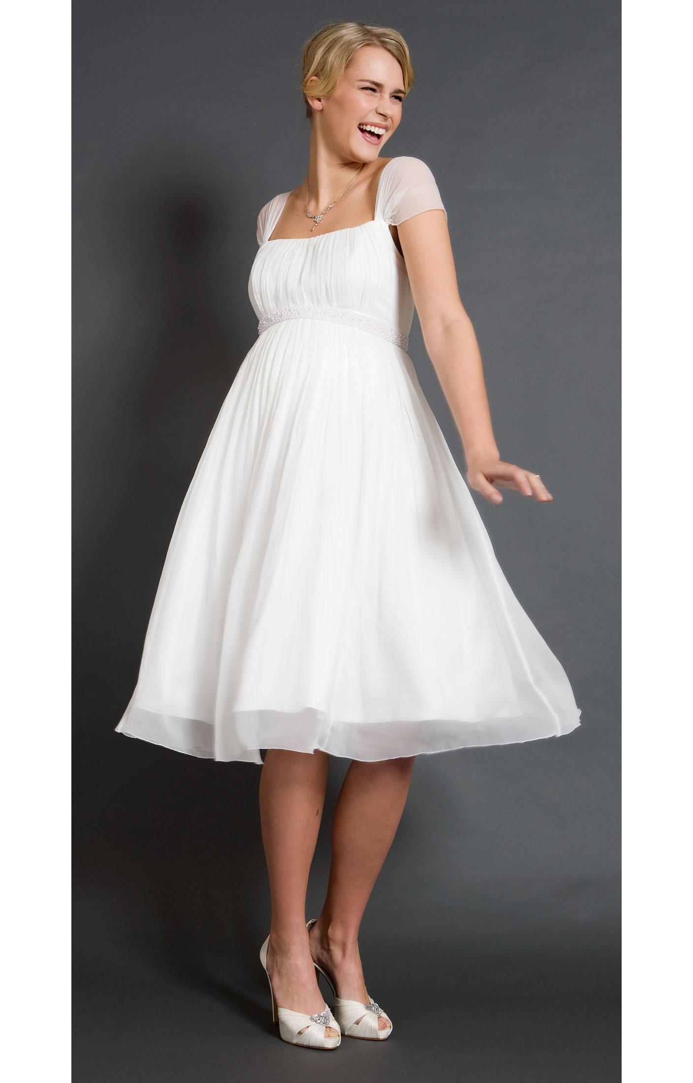 short wedding dresses for the beach photo - 1