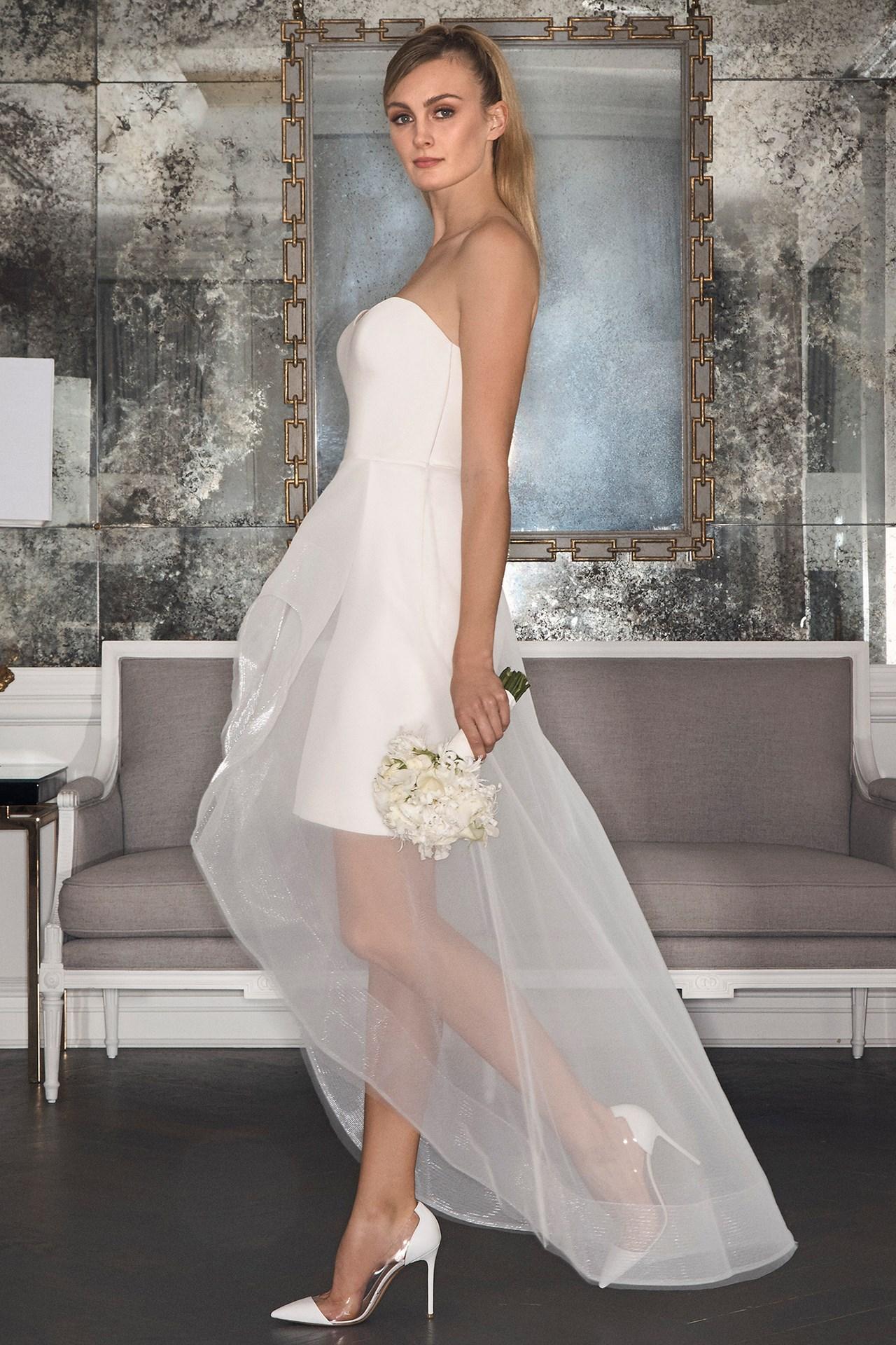 short wedding dresses nyc photo - 1