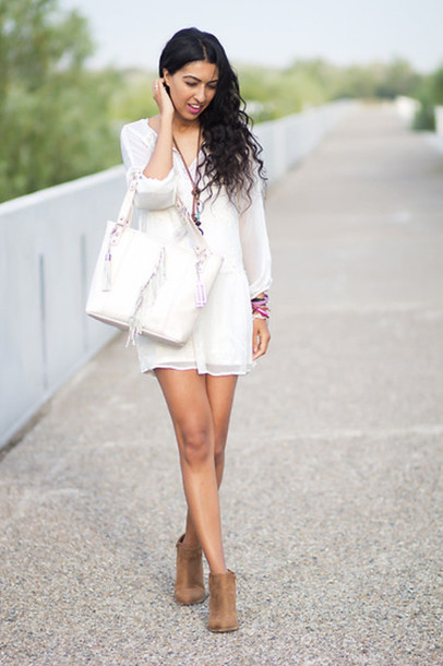 short wedding dresses with boots photo - 1