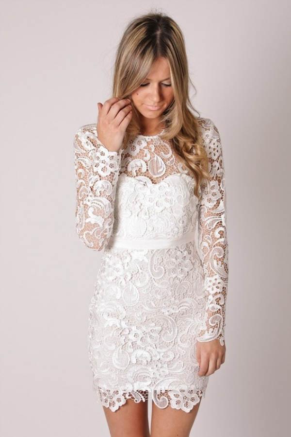 short wedding reception dresses photo - 1