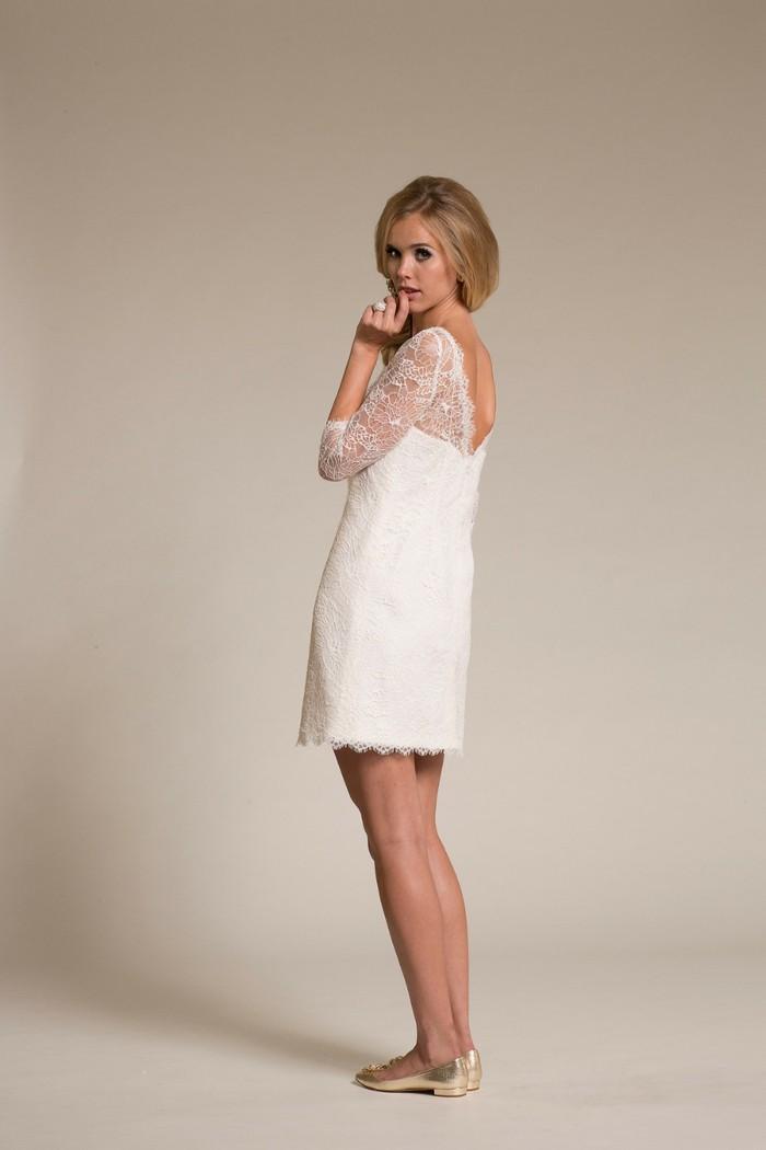 short white wedding dresses photo - 1