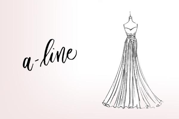 silhouette wedding dresses photo - 1