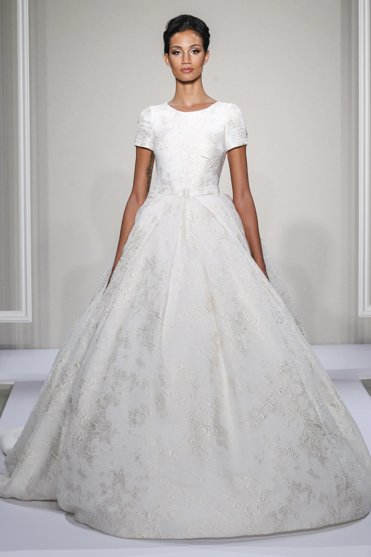 silk ball gown wedding dresses photo - 1