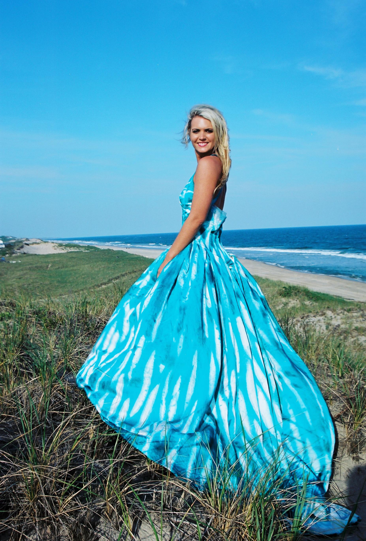silk beach wedding dresses photo - 1