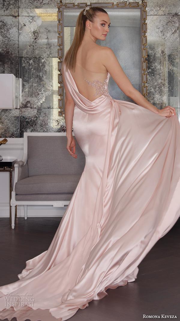 silk charmeuse wedding dresses photo - 1