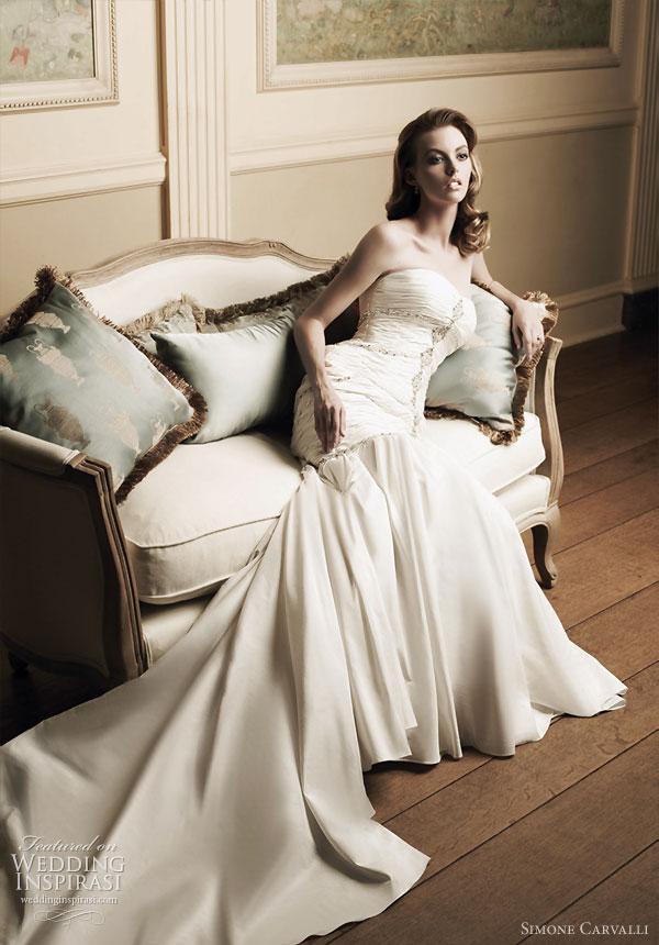 simone carvalli wedding dresses photo - 1