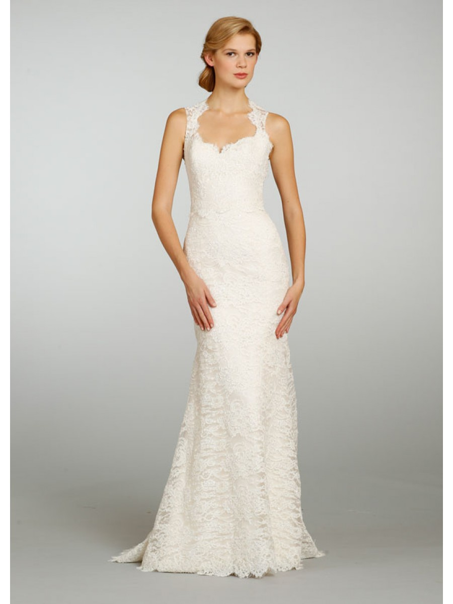 simple and cheap wedding dresses photo - 1