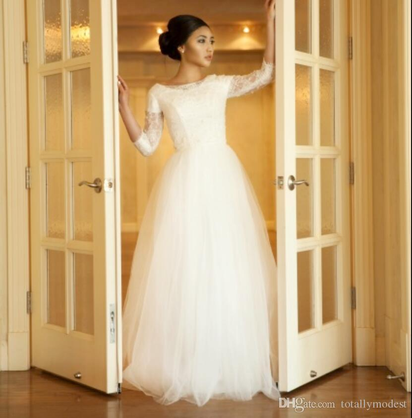 simple beach wedding dresses photo - 1