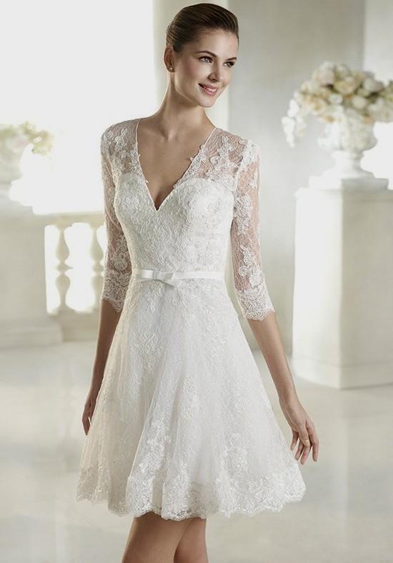 simple civil wedding dresses photo - 1
