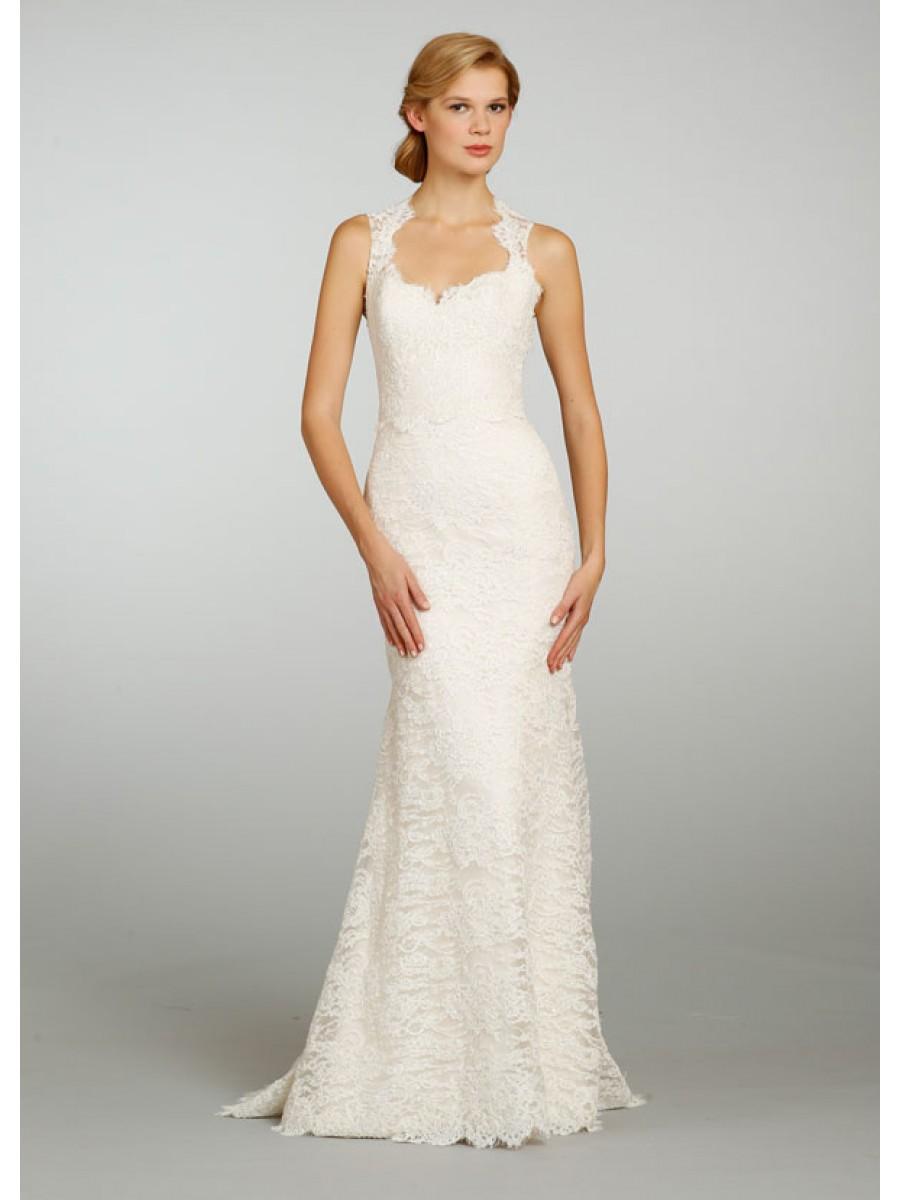 simple inexpensive wedding dresses photo - 1