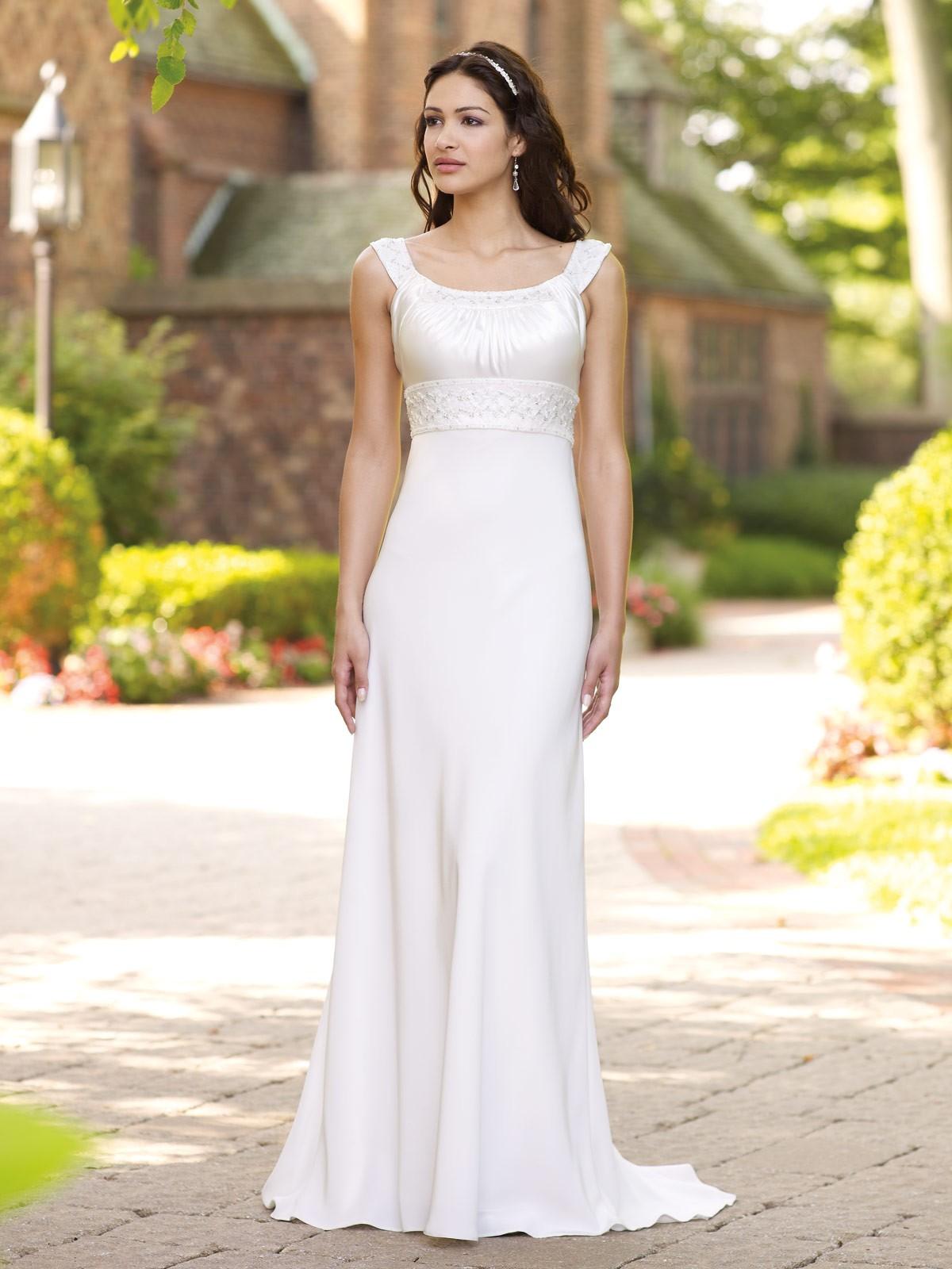 simple informal wedding dresses photo - 1