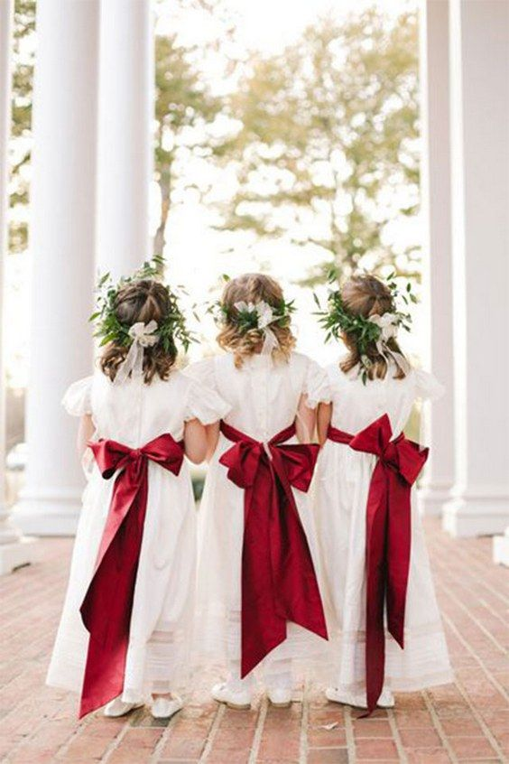 simple red wedding dresses photo - 1