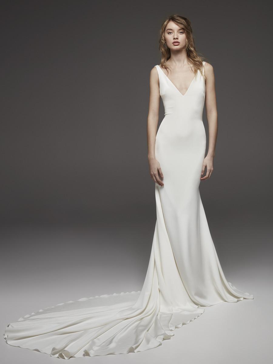 simple spring wedding dresses photo - 1