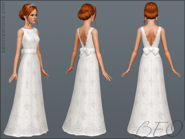 sims 3 wedding dresses photo - 1