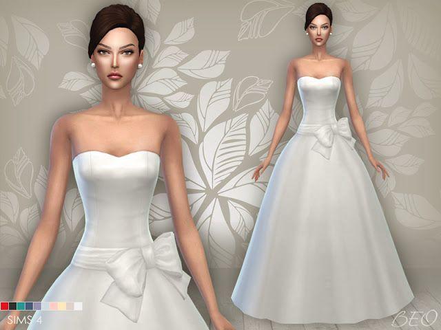 sims 4 wedding dresses photo - 1