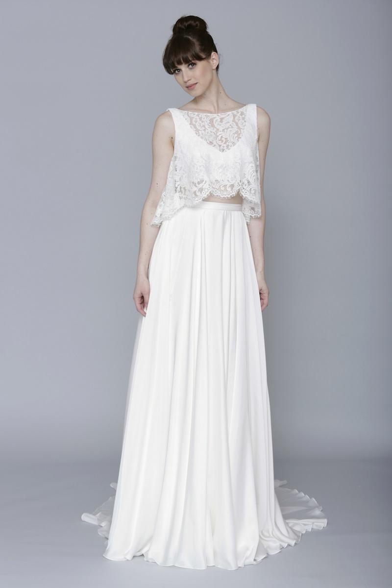 skirt and top wedding dresses photo - 1