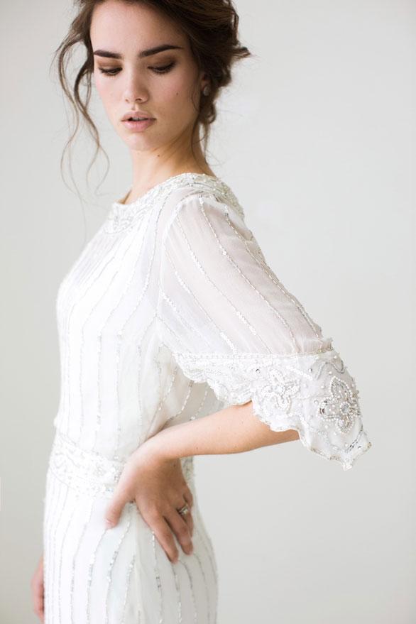 sleeve wedding dresses photo - 1