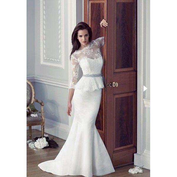 sleeved wedding dresses photo - 1