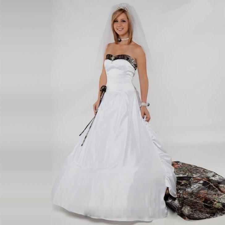 snow camo wedding dresses photo - 1