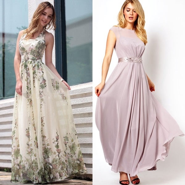 sophisticated dresses for wedding guests photo - 1
