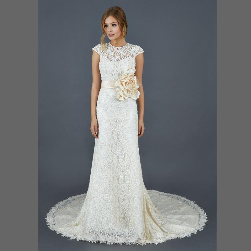 sophisticated wedding dresses photo - 1