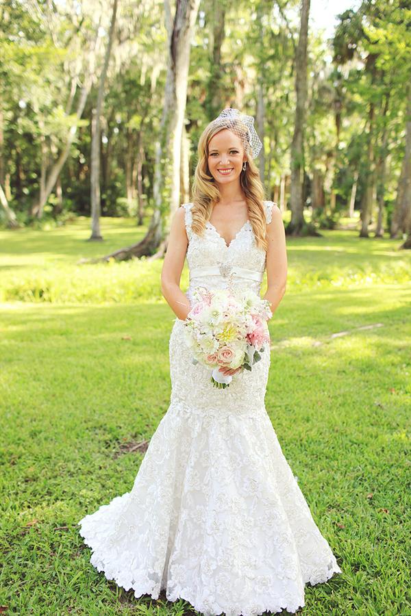 southern lace wedding dresses photo - 1